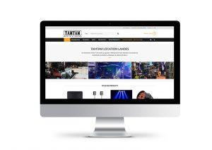 Site Web Tamtam Location