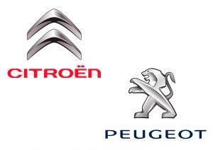 Logo Citroën et Peugeot
